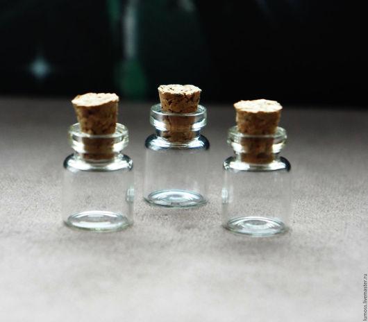 Другие виды рукоделия ручной работы. Ярмарка Мастеров - ручная работа. Купить Пузырек для снадобий №10. Handmade. Белый