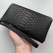 Сумки и аксессуары handmade. Livemaster - original item wallet Python. Handmade.