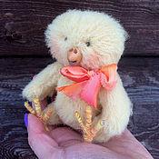 Куклы и игрушки ручной работы. Ярмарка Мастеров - ручная работа Тедди цыпленок Желток. Handmade.