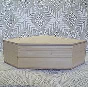 Для дома и интерьера ручной работы. Ярмарка Мастеров - ручная работа Короб угловой большой. Handmade.
