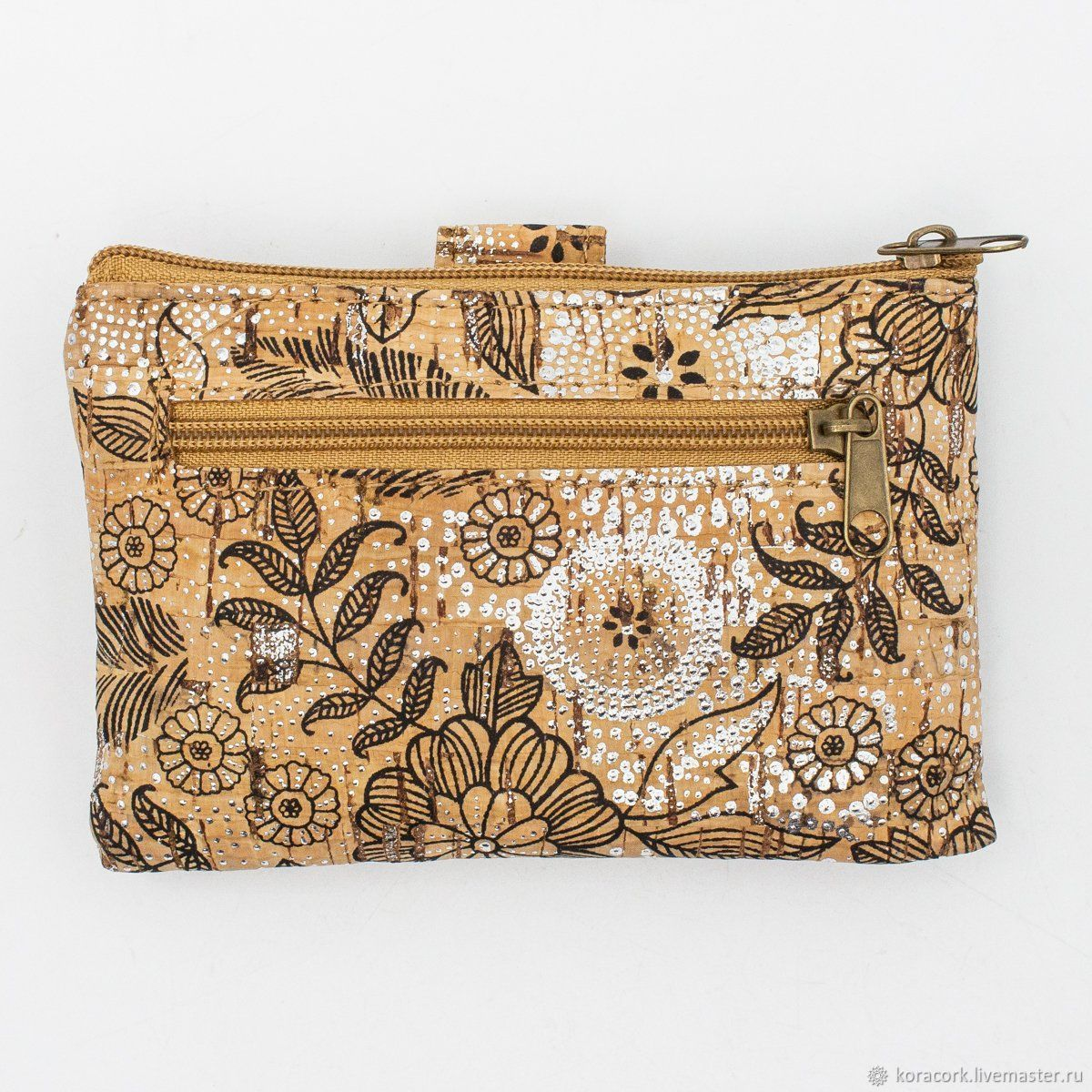 Bags & Accessories handmade. Livemaster - handmade. Buy Eco wallet for women from Portuguese cork handmade.
