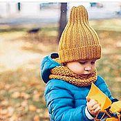 """Работы для детей, ручной работы. Ярмарка Мастеров - ручная работа Шапочка детская """"Тыковка"""". Handmade."""