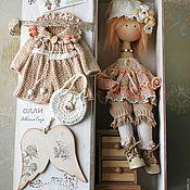Куклы и игрушки ручной работы. Ярмарка Мастеров - ручная работа Ангел  Олли. Коллекционная кукла ангел. Бохо стиль.. Handmade.