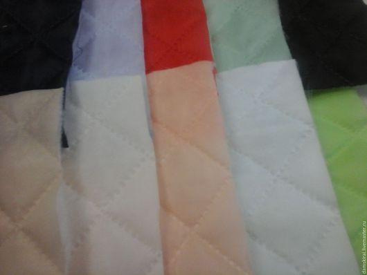 Шитье ручной работы. Ярмарка Мастеров - ручная работа. Купить Подкладка термо-стежка. Handmade. Ярко-красный