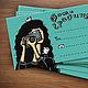 Настольные визитницы ручной работы. Ярмарка Мастеров - ручная работа. Купить Набор визитных карточек «Фотографиня». Handmade. Подарочный набор