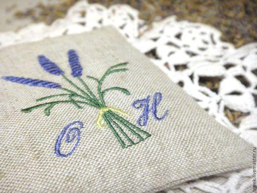 Текстиль, ковры ручной работы. Ярмарка Мастеров - ручная работа. Купить Саше Лаванда прованс Маленькие подарки гостям на свадьбу Подарок маме. Handmade.