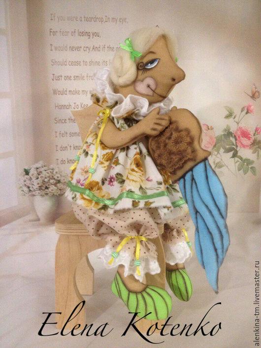 Коллекционные куклы ручной работы. Ярмарка Мастеров - ручная работа. Купить Водолей, интерьерная игрушка. Из серии МК А. Голеневой знаки зодиака.. Handmade.
