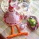 Подарки на Пасху ручной работы. Курочка и петух - куклы в стиле Тильда. MarmelaDecor. Интернет-магазин Ярмарка Мастеров. Куклы, петушок