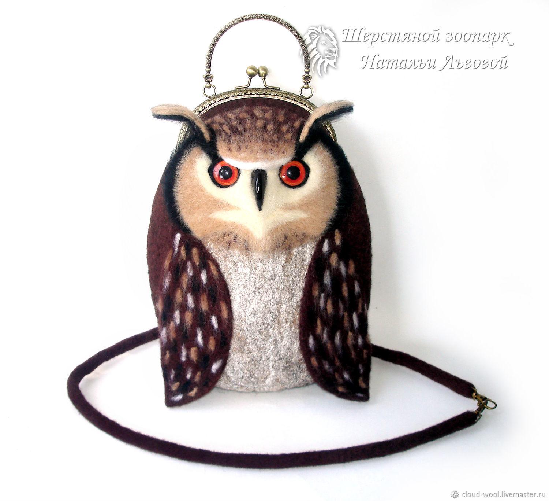 Owl Bag Women S Felted Handbag Wool Eared заказать на Ярмарке Мастеров Ihqvhcom Сумки Sochi