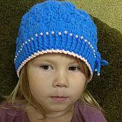 Шапка ручной работы. Ярмарка Мастеров - ручная работа Шапка: Берет для девочки 3-4 года. Handmade.