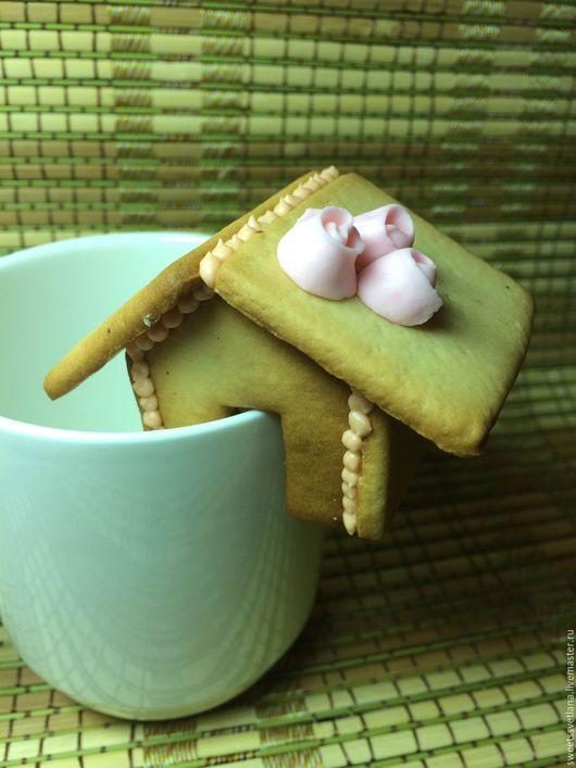 Кулинарные сувениры ручной работы. Ярмарка Мастеров - ручная работа. Купить Пряничный домик к чаю. Handmade. Пряники медовые