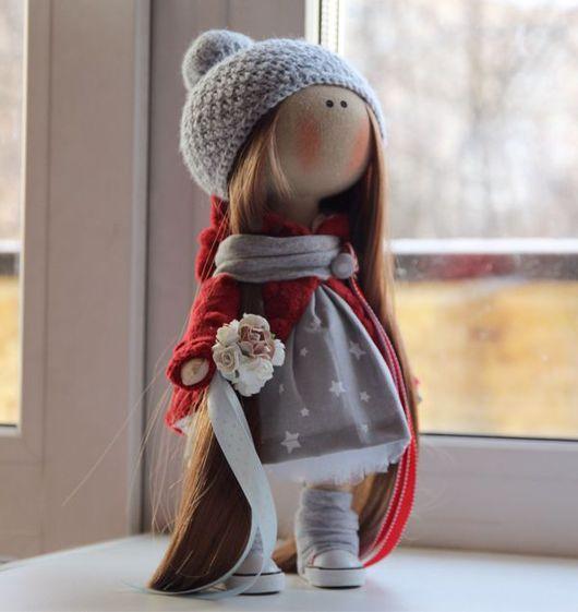 Коллекционные куклы ручной работы. Ярмарка Мастеров - ручная работа. Купить Интерьерная кукла. Handmade. Тильда, игрушка ручной работы