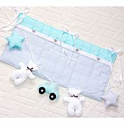 Для дома и интерьера handmade. Livemaster - original item Pocket for baby cot. Handmade.