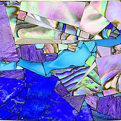 """Украшения ручной работы. Ярмарка Мастеров - ручная работа Брошь """"Абстрактная мозаика"""". Handmade."""