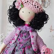 Куклы и игрушки handmade. Livemaster - original item textile doll Nadia. interior doll. Handmade.