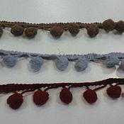 Ткани ручной работы. Ярмарка Мастеров - ручная работа Тесьма  декоративная. Handmade.