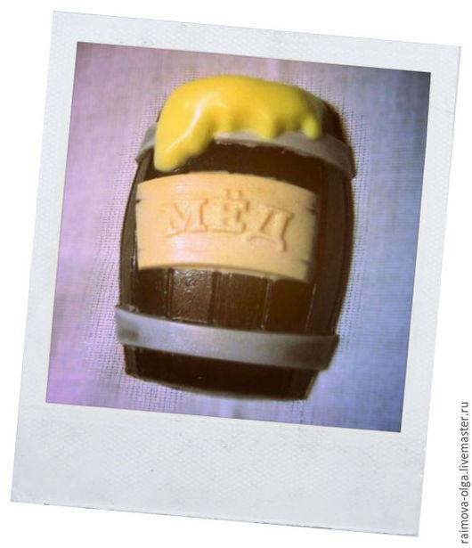 """Мыло ручной работы. Ярмарка Мастеров - ручная работа. Купить Мыло """"бочка мёда"""".. Handmade. Желтый, мед, бочка меда"""