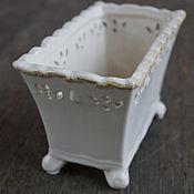 Для дома и интерьера ручной работы. Ярмарка Мастеров - ручная работа Кашпо керамика.. Handmade.