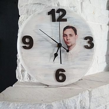 Для дома и интерьера ручной работы. Ярмарка Мастеров - ручная работа Часы «Память». Handmade.