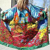 """Одежда ручной работы. Ярмарка Мастеров - ручная работа Летний Кардиган """"Маки"""". Handmade."""