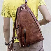 Сумки и аксессуары handmade. Livemaster - original item Urban backpack made of genuine leather. Handmade.