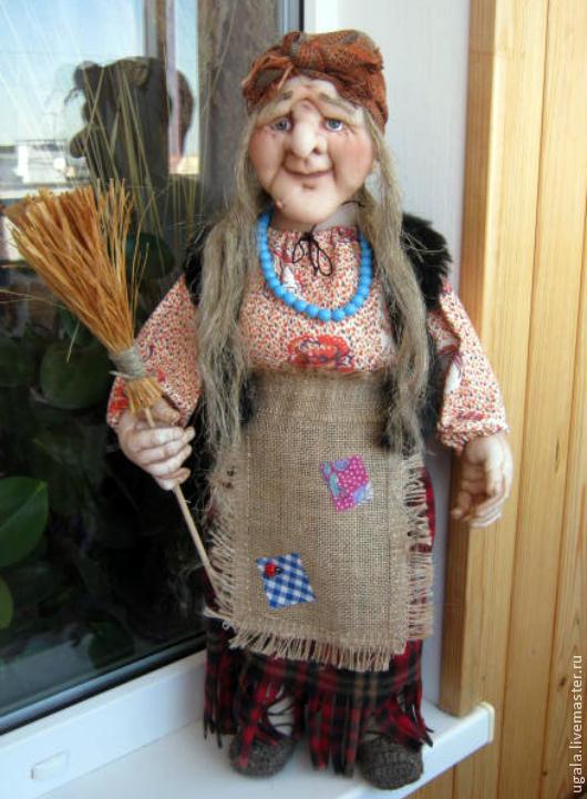 Коллекционные куклы ручной работы. Ярмарка Мастеров - ручная работа. Купить Кукла Баба Яга 2. Handmade. Баба яга