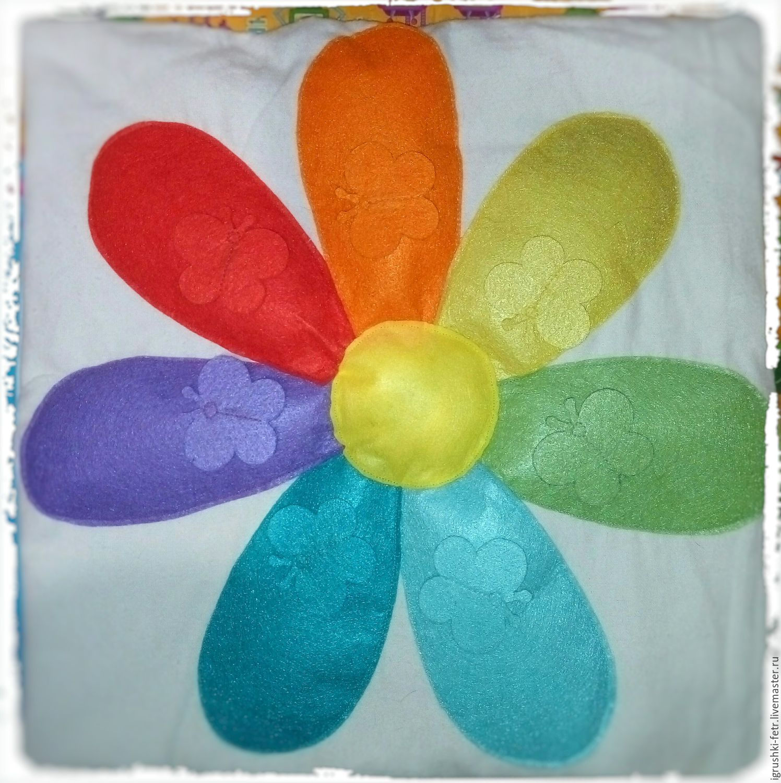 Цветик семицветик своими руками из картона фото7