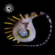 Для домашних животных, ручной работы. Ярмарка Мастеров - ручная работа Мохнатый ЭКОдом для кошки. Handmade.