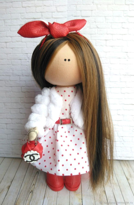 Девушка в шанелевском стиле, Тыквоголовка, Монино,  Фото №1