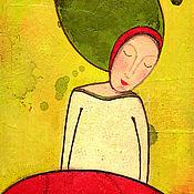 Картины и панно ручной работы. Ярмарка Мастеров - ручная работа Картина Goddes Lada. Handmade.