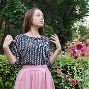 Одежда ручной работы. Ярмарка Мастеров - ручная работа Блузка реглан, 2 вида. Handmade.