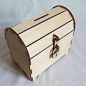 Копилки ручной работы. Ярмарка Мастеров - ручная работа Сундук-копилка. Handmade.