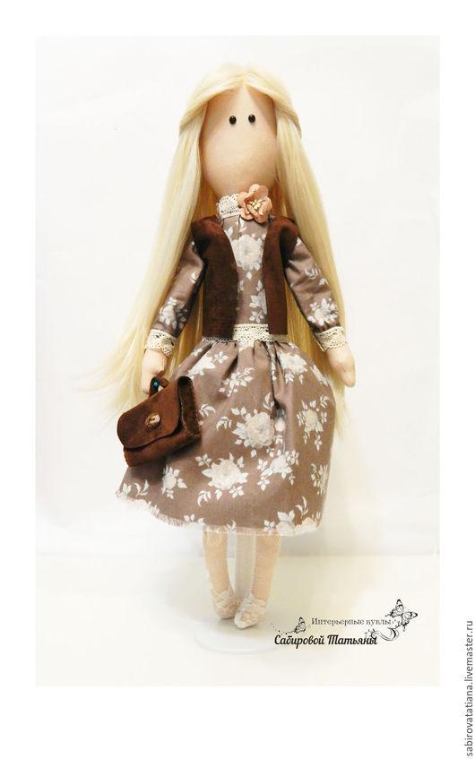 Коллекционные куклы ручной работы. Ярмарка Мастеров - ручная работа. Купить Интерьерная кукла из ткани. Handmade. Комбинированный, кукла интерьерная