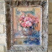 """Картины и панно ручной работы. Ярмарка Мастеров - ручная работа Картина """"Розовый туман"""".. Handmade."""
