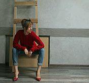 """Одежда ручной работы. Ярмарка Мастеров - ручная работа Джемпер """"Scarlet"""". Handmade."""