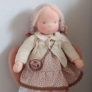 Куклы и игрушки ручной работы. Ярмарка Мастеров - ручная работа Вальдорфская кукла Ариана 38 см. Handmade.