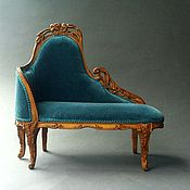 Couches handmade. Livemaster - original item Daybed in the style of art Nouveau. Handmade.