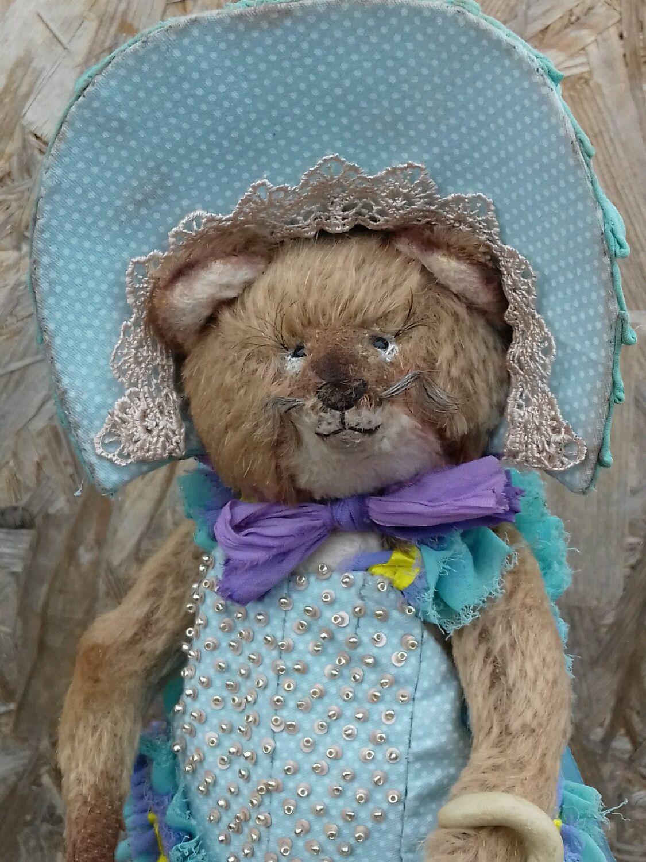 Мишки Тедди ручной работы. Ярмарка Мастеров - ручная работа. Купить Она кокетка очень нежная и ранимая лиса. Handmade.