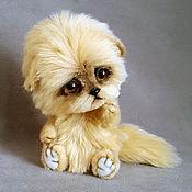 Куклы и игрушки ручной работы. Ярмарка Мастеров - ручная работа котенок Солнышко. Handmade.