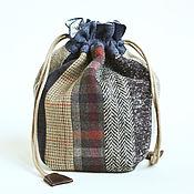 Сумки и аксессуары handmade. Livemaster - original item Textile bag for personal items. Quilt. Handmade.