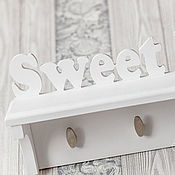 Для дома и интерьера handmade. Livemaster - original item Housekeeper-wood white
