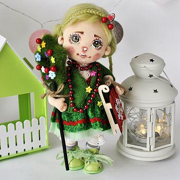 Куклы и игрушки ручной работы. Ярмарка Мастеров - ручная работа Ёлочка. Handmade.