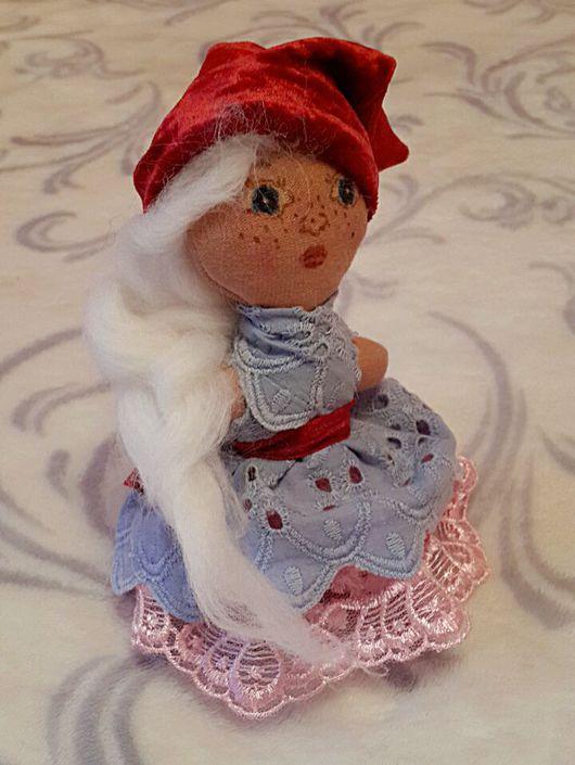 Сказочные персонажи ручной работы. Ярмарка Мастеров - ручная работа. Купить Кукла Гномик. Handmade. Игрушка, интерьерная игрушка, трикотаж
