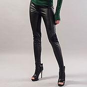 Одежда handmade. Livemaster - original item Vegan Leather Pants/Stretchy Pants/Leggings/Skinny Pants/F1735. Handmade.