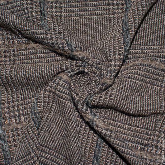 Шитье ручной работы. Ярмарка Мастеров - ручная работа. Купить Шерсть пальтово-костюмная  GIORGIO ARMANI. Handmade. Именная ткань