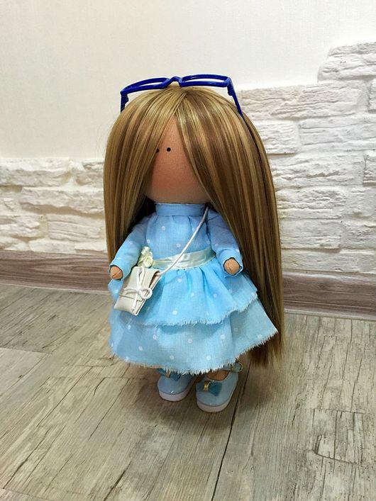 Портретные куклы ручной работы. Ярмарка Мастеров - ручная работа. Купить Текстильная кукла ручной работы.. Handmade. Портретная кукла