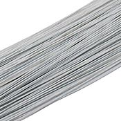 Материалы для творчества handmade. Livemaster - original item Paper Covered Floral wire Stems, Gauge 28 (0.3mm), White. Handmade.