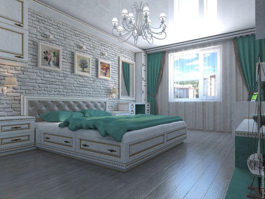Спальня в квартире-двушке.