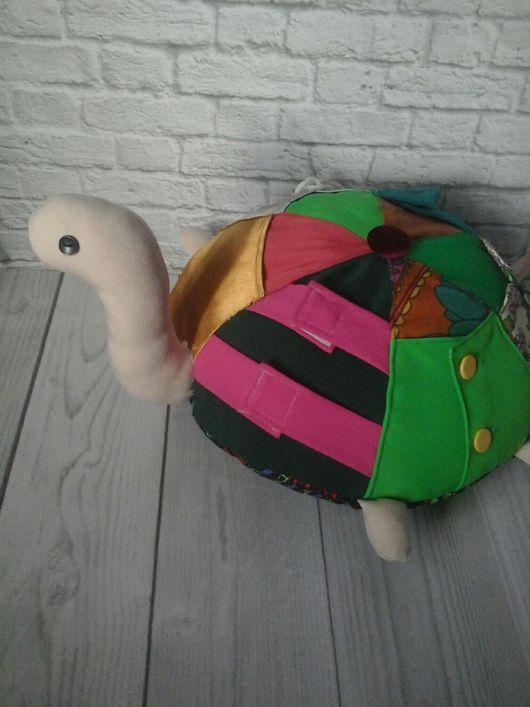 """Развивающие игрушки ручной работы. Ярмарка Мастеров - ручная работа. Купить Развивающая игрушка """"черепаха"""". Handmade. Черепаха, ребенок, пуговицы"""