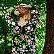 """Платья ручной работы. Платье """"Вечерняя роза"""". Инна Дмитрук (Dmytruk). Ярмарка Мастеров. Вязание для женщин, цветы"""